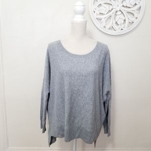 Eileen fisher size L loose sweater 100% cashmere